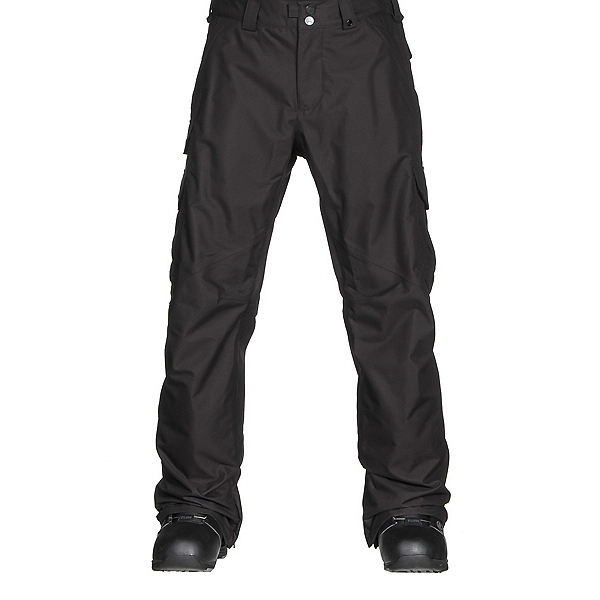 Burton Cargo Classic Short Mens Snowboard Pants, True Black, 600