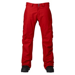 Burton Cargo Classic Short Mens Snowboard Pants, Process Red, 256