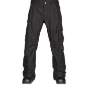 Burton Cargo Classic Tall Mens Snowboard Pants, True Black, medium
