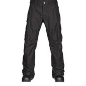 Burton Cargo Classic Tall Mens Snowboard Pants, True Black, medium