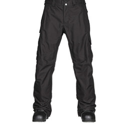 Burton Cargo Classic Tall Mens Snowboard Pants, True Black, 256