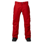 Burton Cargo Classic Tall Mens Snowboard Pants, Process Red, medium