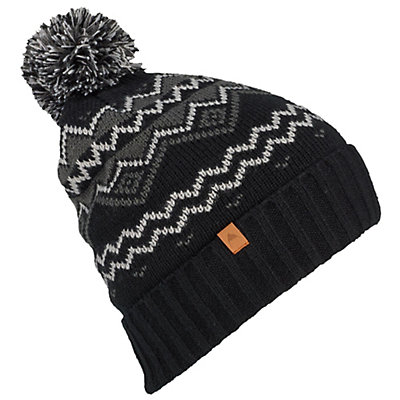 Burton Mountain Man Beanie, True Black, viewer