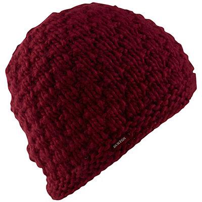 Burton Big Bertha Beanie Womens Hat, Sangria, viewer