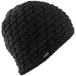 Burton Big Bertha Beanie Womens Hat, True Black, 256