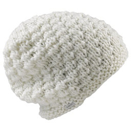 Burton Big Bertha Beanie Womens Hat, Stout White, 256