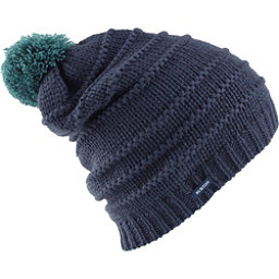 Burton Candy Stripe Beanie Womens Hat, Mood Indigo, 256