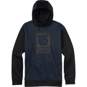 Burton Crown Bonded Pullover Hoodie, Eclipse, medium