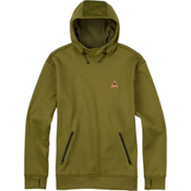 Burton Crown Bonded Pullover Hoodie, Olive Branch, medium