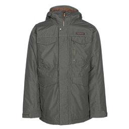 Burton Covert Mens Insulated Snowboard Jacket, Keef Underpass Twill, 256