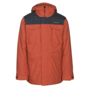 Burton Covert Mens Insulated Snowboard Jacket, Picante-Denim, medium