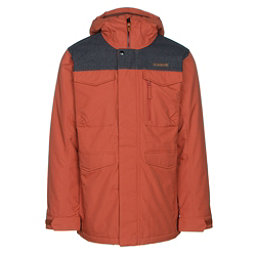 Burton Covert Mens Insulated Snowboard Jacket, Picante-Denim, 256