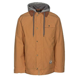 Burton Dunmore Mens Insulated Snowboard Jacket, Syrup Waxed, 256