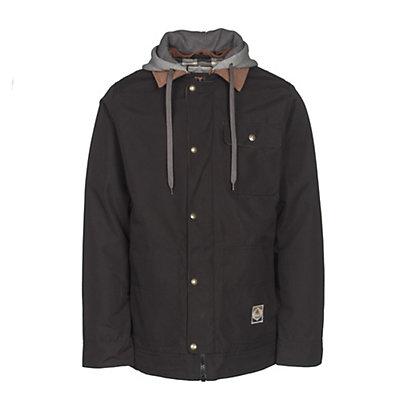 Burton Dunmore Mens Insulated Snowboard Jacket, True Black Oxford, viewer