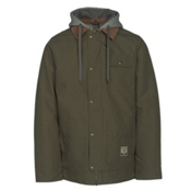 Burton Dunmore Mens Insulated Snowboard Jacket, Keef Oxford, medium