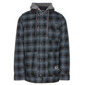 Burton Dunmore Mens Insulated Snowboard Jacket, Porter Plaid Yarn Dye, medium