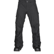 Burton Covert Mens Snowboard Pants, True Black, medium