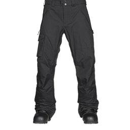 Burton Covert Mens Snowboard Pants, True Black, 256