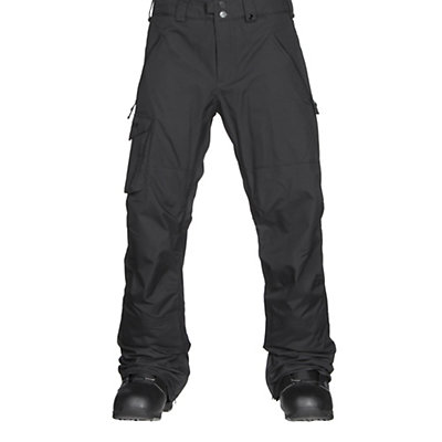 Burton Covert Mens Snowboard Pants, True Black, viewer