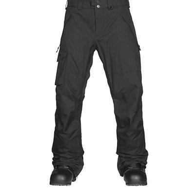 Burton Covert Mens Snowboard Pants, True Black, viewer