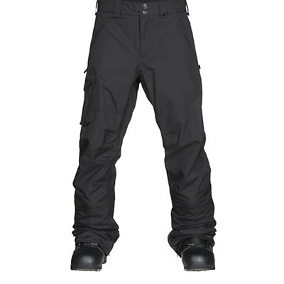 Burton Covert Insulated Mens Snowboard Pants, True Black, viewer