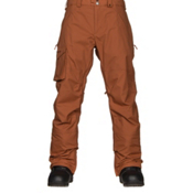 Burton Covert Insulated Mens Snowboard Pants, True Penny, medium