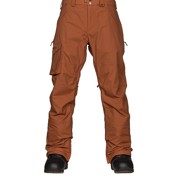 Burton Covert Insulated Mens Snowboard Pants, True Penny, 600