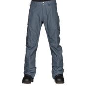 Burton Cargo Mid Fit Mens Snowboard Pants, Washed Blue, medium