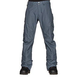 Burton Cargo Mid Fit Mens Snowboard Pants, Washed Blue, 256