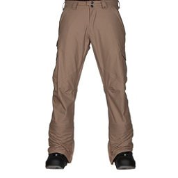 Burton Cargo Mid Fit Mens Snowboard Pants, Kelp, 256
