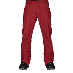 Burton Cargo Mid Fit Mens Snowboard Pants, Process Red, 256