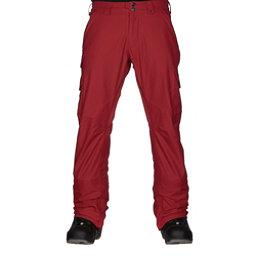 Burton Cargo Mid Fit Mens Snowboard Pants, Process Red, 256