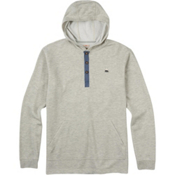 Burton Dexter Hooded Henley Mens Hoodie, High Rise Heather, medium