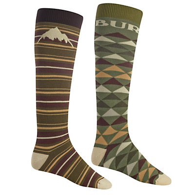 Burton Weekend 2 Pack Snowboard Socks, Keef, viewer