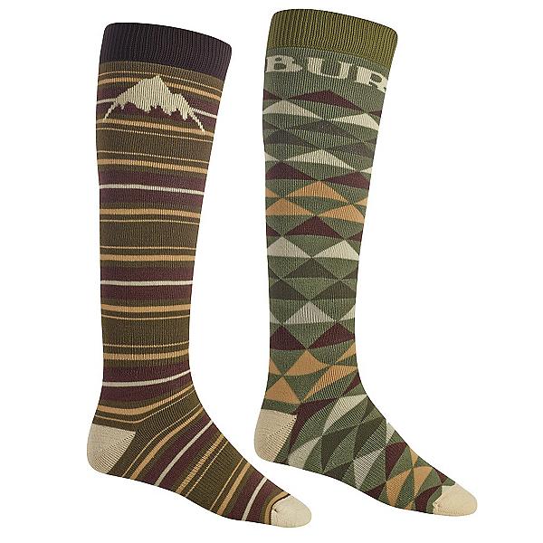 Burton Weekend 2 Pack Snowboard Socks, Keef, 600