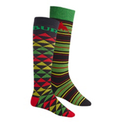 Burton Weekend 2 Pack Snowboard Socks, One Love, medium
