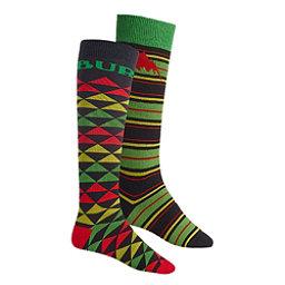 Burton Weekend 2 Pack Snowboard Socks, One Love, 256