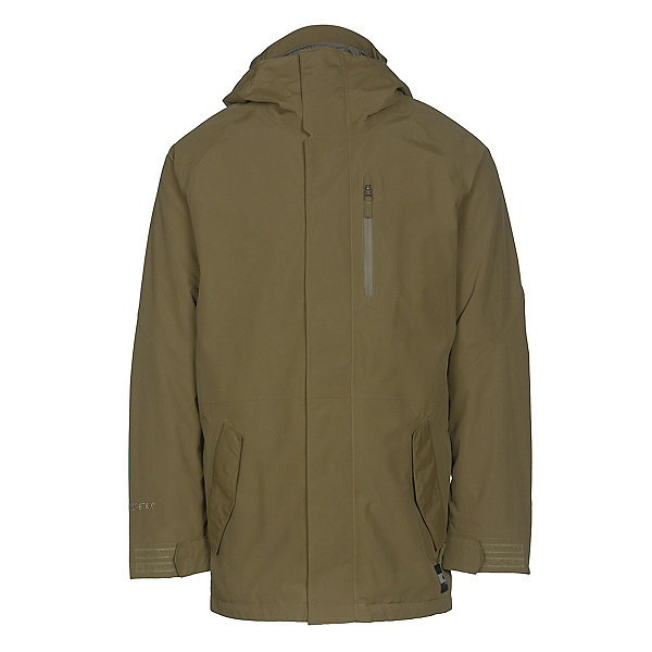 Burton Gore-Tex Radial Mens Insulated Snowboard Jacket, Fir, 600