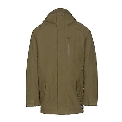 Burton Gore-Tex Radial Mens Insulated Snowboard Jacket, Fir, viewer