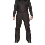 Burton Reserve Bib Mens Snowboard Pants, True Black, medium