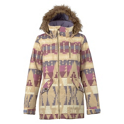 Burton Hazel w/Faux Fur Womens Insulated Snowboard Jacket, Vision Quest, medium