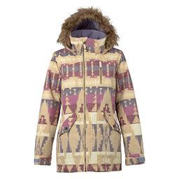 Burton Hazel w/Faux Fur Womens Insulated Snowboard Jacket, Vision Quest, 256