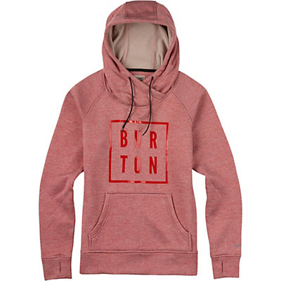 Burton Quartz Pullover Womens Hoodie, Coral Heather, viewer