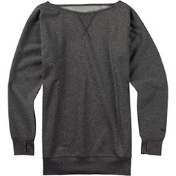 Burton Womens Crimson Fleece, True Black Heather, 256