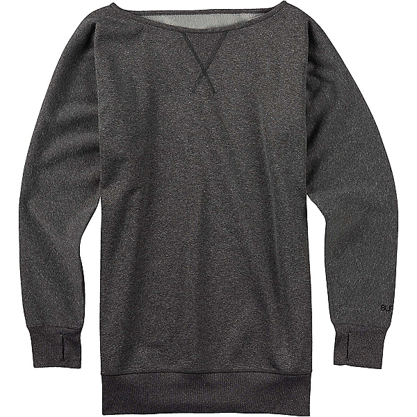 Burton Womens Crimson Fleece, True Black Heather, 600