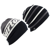 Burton Beanie 2 Pack, Faded-True Black, medium