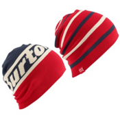 Burton Beanie 2 Pack, Eclipse-Process Red, medium