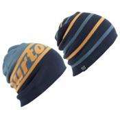 Burton Beanie 2 Pack, Washed Blue-Eclipse, medium