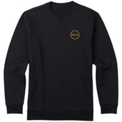 Burton Analog Enclave Crew Sweatshirt, True Black, medium
