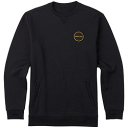 Burton Analog Enclave Crew Sweatshirt, True Black, 256